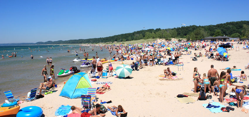charles mears state park beach pentwater michigan
