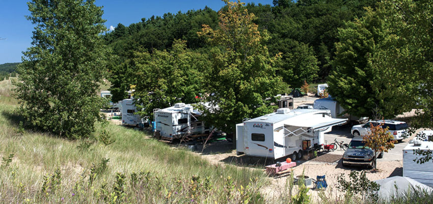 pentwater camping