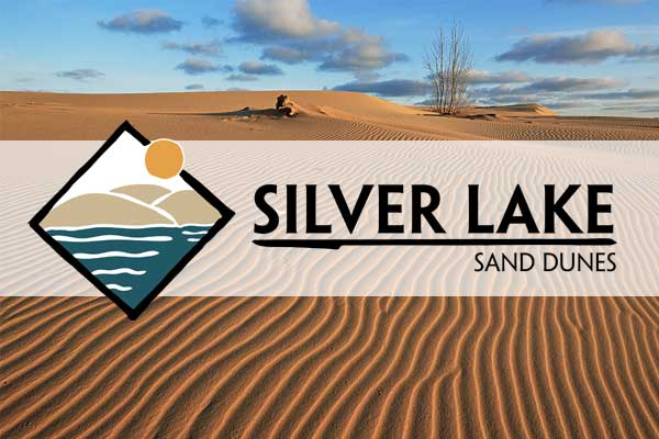silver lake chamber badge and logo