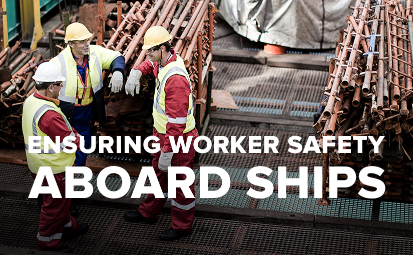 U.S. Standard Products ship safety for crew members