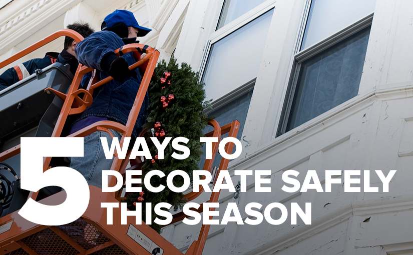 How to Decorate Your Office for the Holidays Safely