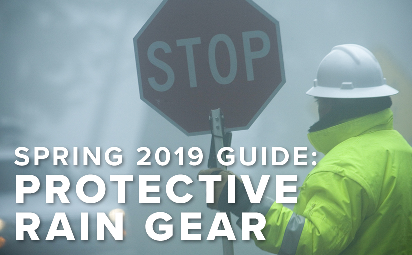 Does your team have protective rain gear?