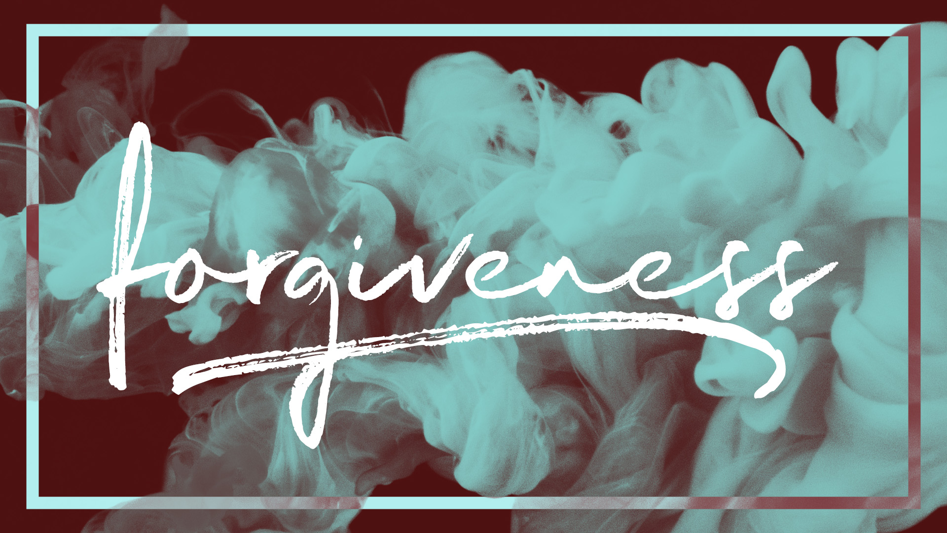 Forgiveness Banner - Picture of Smoke