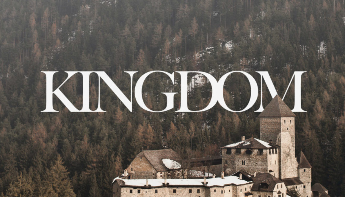 Kingdom Series Banner - Picture of Castle and Forest