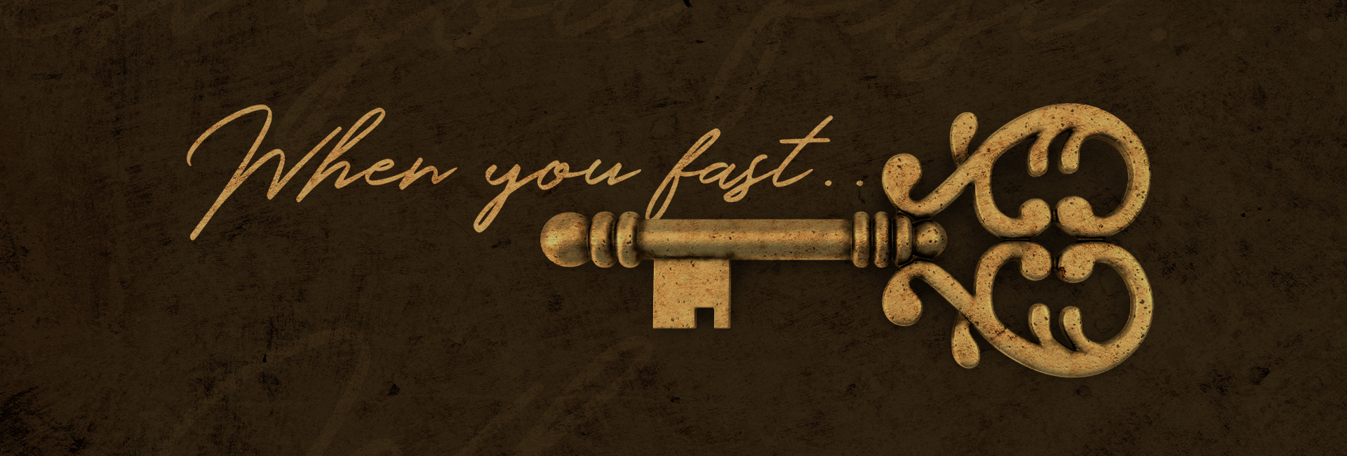 When You Fast…