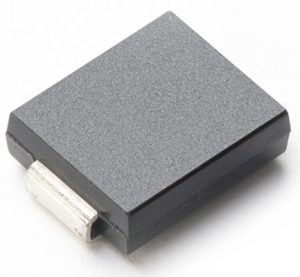 Picture of the TVS diode