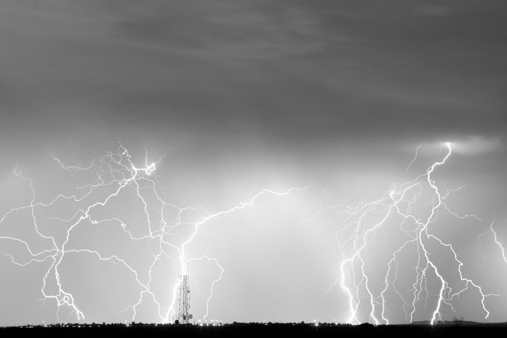 When Lightning Strikes, Surge Protection Devices Ensure Cell Towers Stay Online