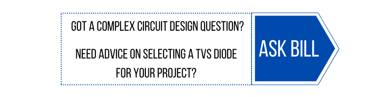 ask bill tvs diode