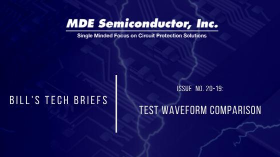 Test Waveform Comparison