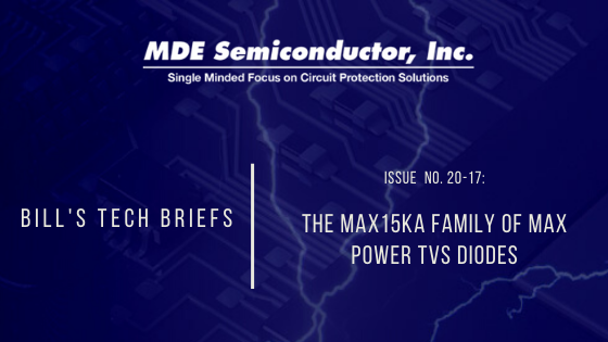 The MAX15KA Family of MAX Power TVS Diodes