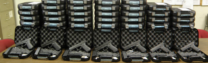 Rockville Centre PBA members transition to Glock 21SF in .45 ACP weapons for patrol