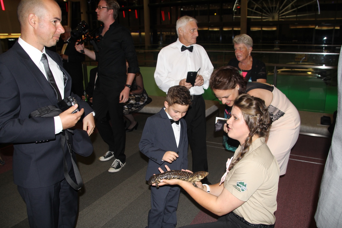 Minnik Chartered Accountants - Australia Zoo - The Young Wildlife Warrior Isaac Busuttil from Melbourne