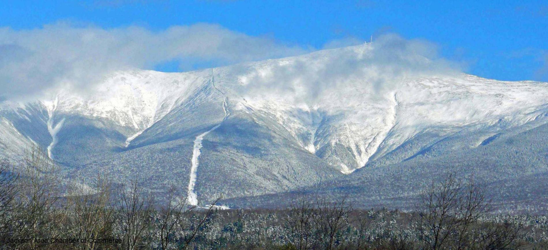 Mount Washington in snow