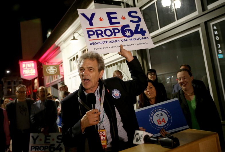 Chris Conrad, Friends of Prop 64 victory party