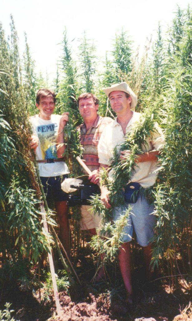 Conrad, Boucher, Martin, hemp field