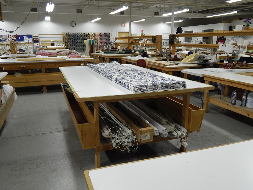 custom drapery workroom