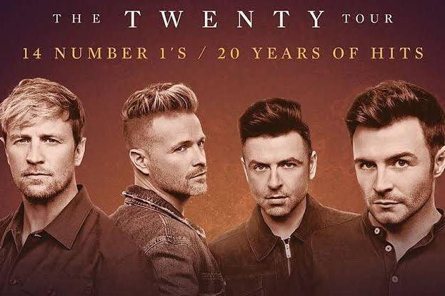 "Westlife ""The Twenty Tour"" ของ4 หนุ่มไอริช Westlife"