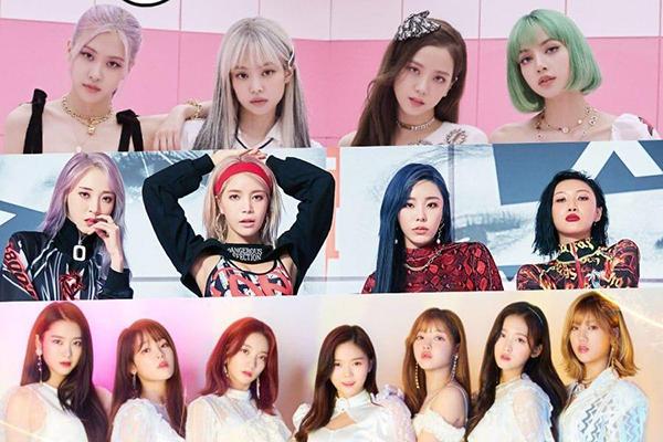 30 อันดับเกิร์ลกรุ๊ป K-POP ที่มีอิทธิพลต่อชื่อเสียงของแบรนด์สินค้าประจำเดือนกันยายน ข่าวดารา ข่าวบันเทิง บันเทิง ไลฟ์สไตล์ รีวิวหนัง หนังน่าดู เกิร์ลกรุ๊ปK-POP