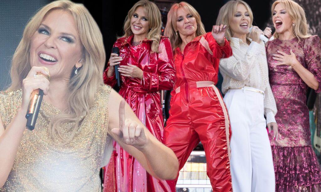 Kylie Minogue ใน Glastonbury การออกจากคุกและยุค Kylie ที่เธอชื่นชอบ ข่าวดารา ข่าวบันเทิง บันเทิง ไลฟ์สไตล์ รีวิวหนัง หนังน่าดู KylieMinogue Glastonbury