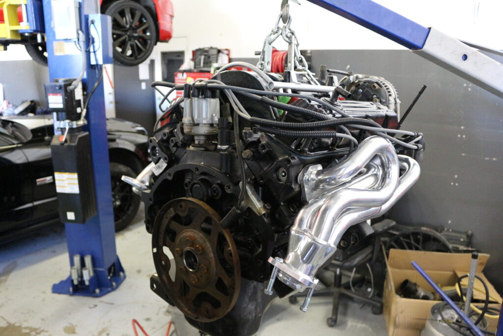 Engine Removed From Vehicle