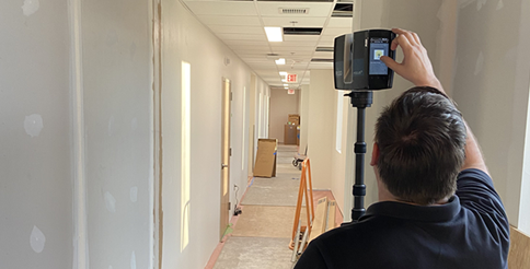 3D Scanning on Construction Site