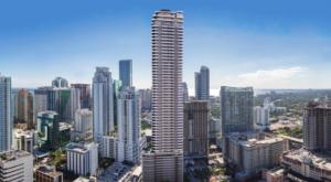 Brickell Flatiron Luxury Condo facility Miami