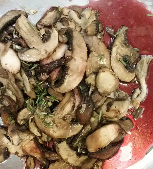 roast pork tenderloin with wild mushrooms