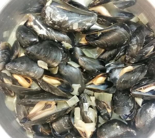 perfect pot of mussels