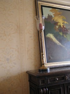 Pattern - Venetian Plaster Texture with colorwashed design