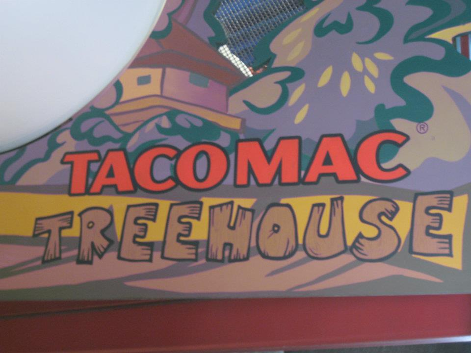 Commercial Mural -  For TacoMac at the Stadium