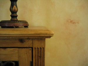 Faux Texture Plaster with Colorwash