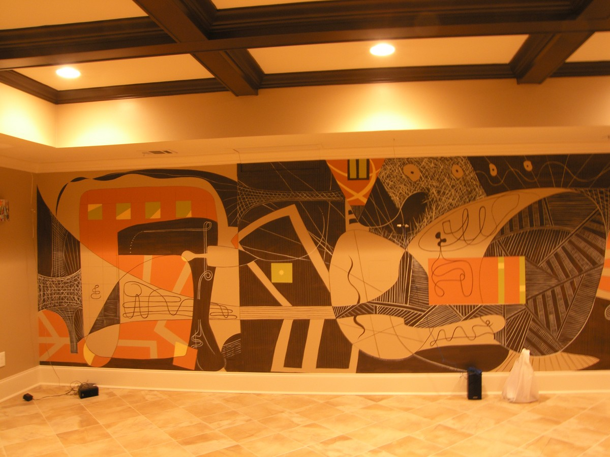 Contemporary Mural