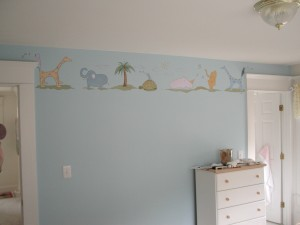 Kid Mural - John Lennon inspired Nursery
