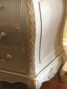 Aged and Distressed Bedside Table