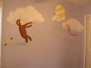 Kids Mural - Curious George Kit