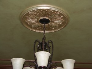 Metallic - Ceiling and Medallion