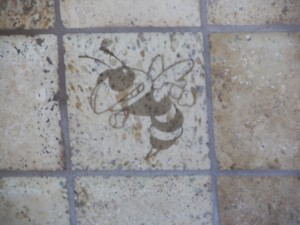 Accent Mural on Tile of GT