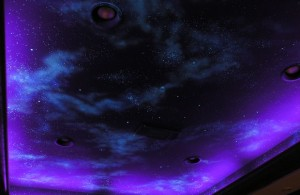 Mural - Night Sky on Theatre Ceiling