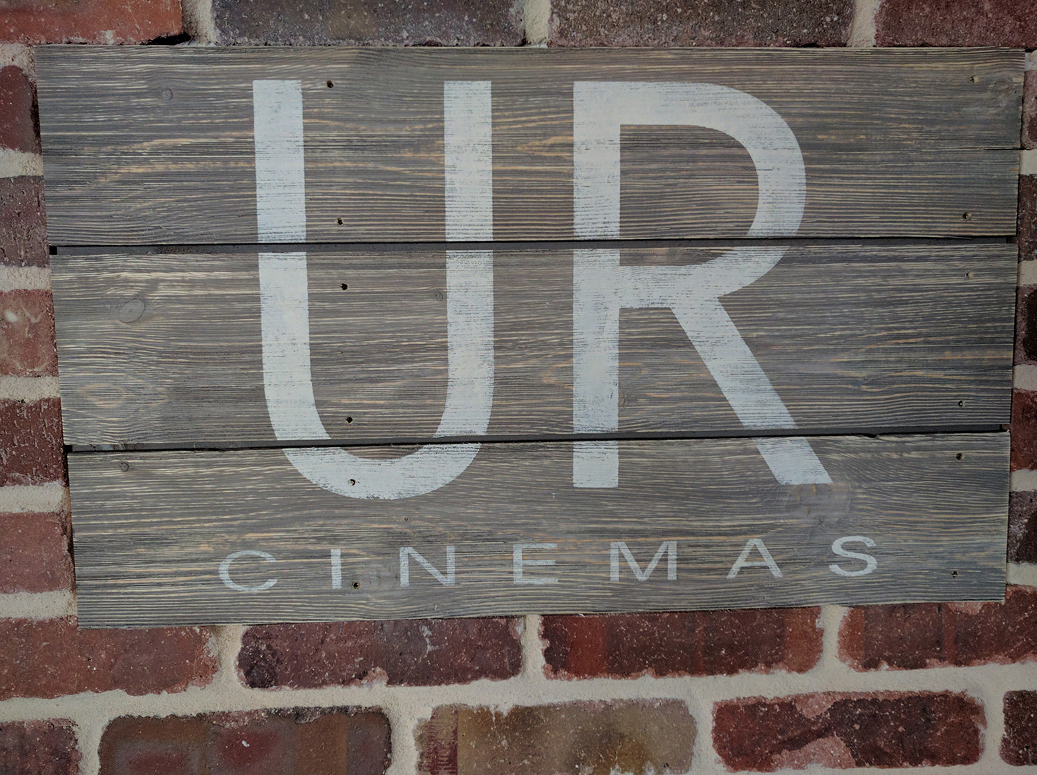 Home Theatre sign