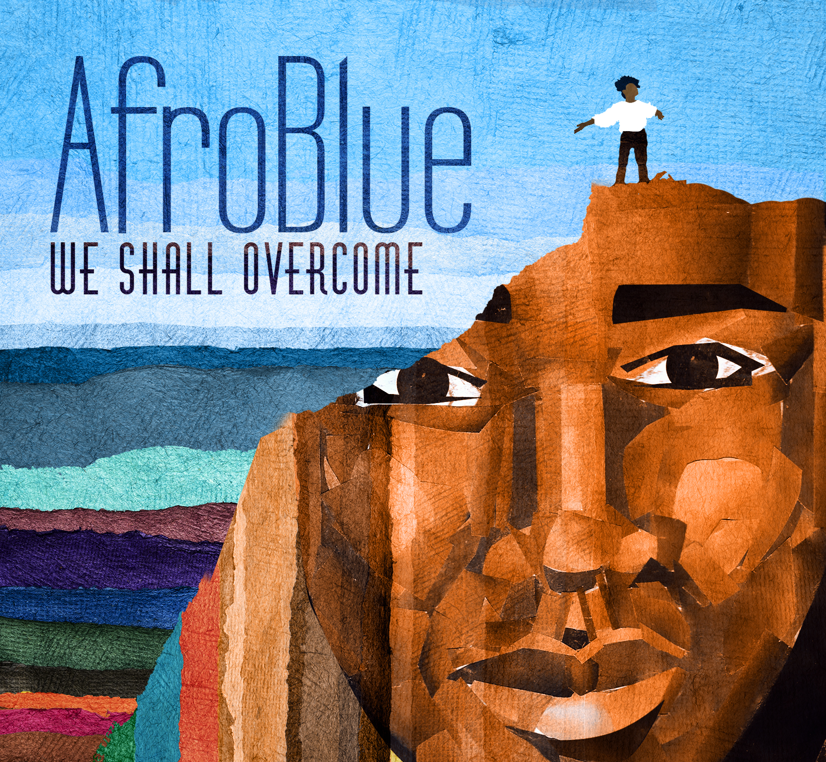 Afro Blue - We Shall Overcome Album Cover