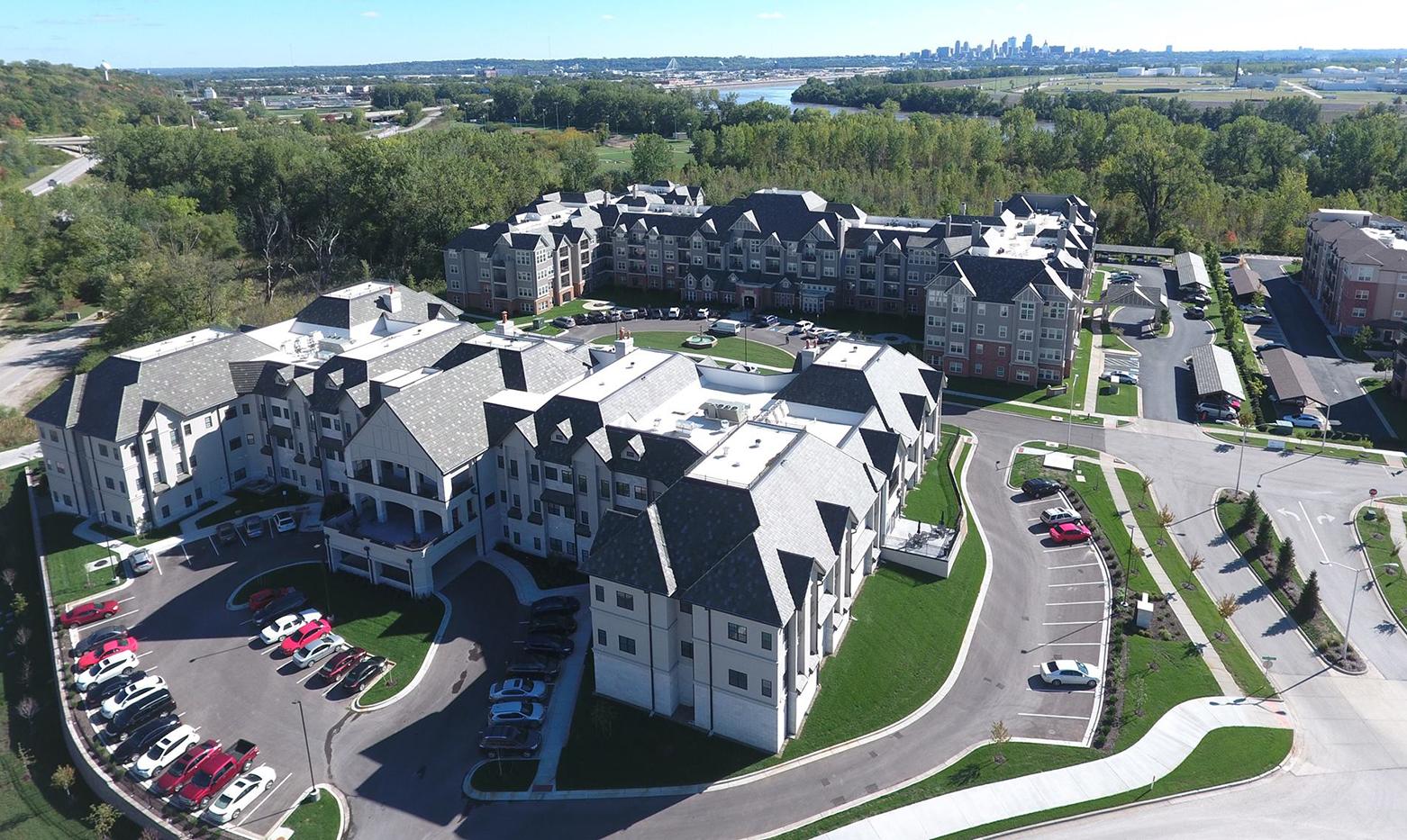 McCrite Senior Living Aerial View