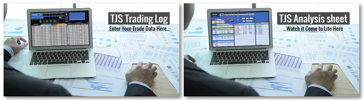 Trading Journal spreadsheet image | Home Page