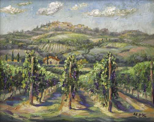 Ready for Harvest, Tuscany