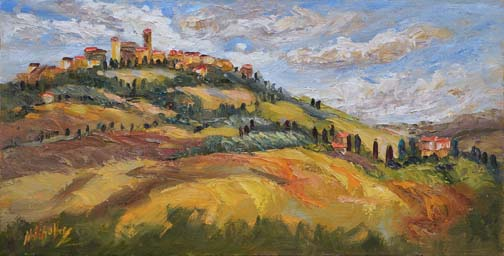 Autumn in Pienza