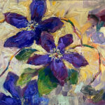 floral, contemporary impressionist, daily painting, dallas texas artist, floral art, Niki Gulley paintings,