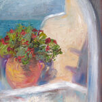 Greece, contemporary impressionist, daily painting, dallas texas artist, travel art, Niki Gulley paintings