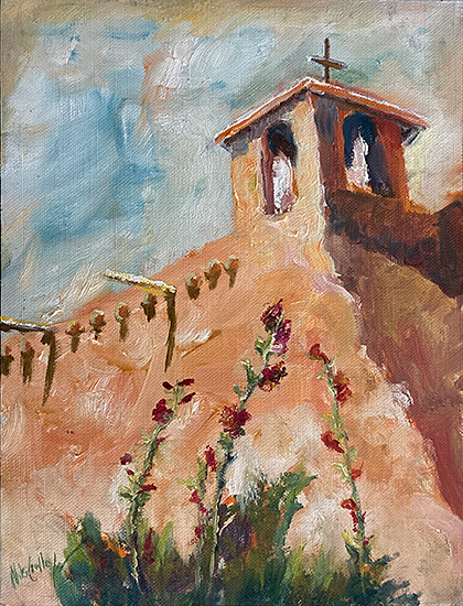 contemporary impressionist, daily painting, dallas texas artist, taos, Niki Gulley paintings,