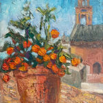 Spain, contemporary impressionist, daily painting, dallas texas artist, travel art, Niki Gulley paintings