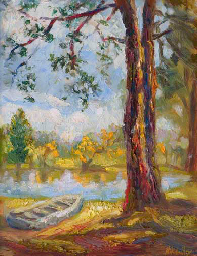 contemporary impressionist, daily painting, dallas texas artist, Niki Gulley paintings