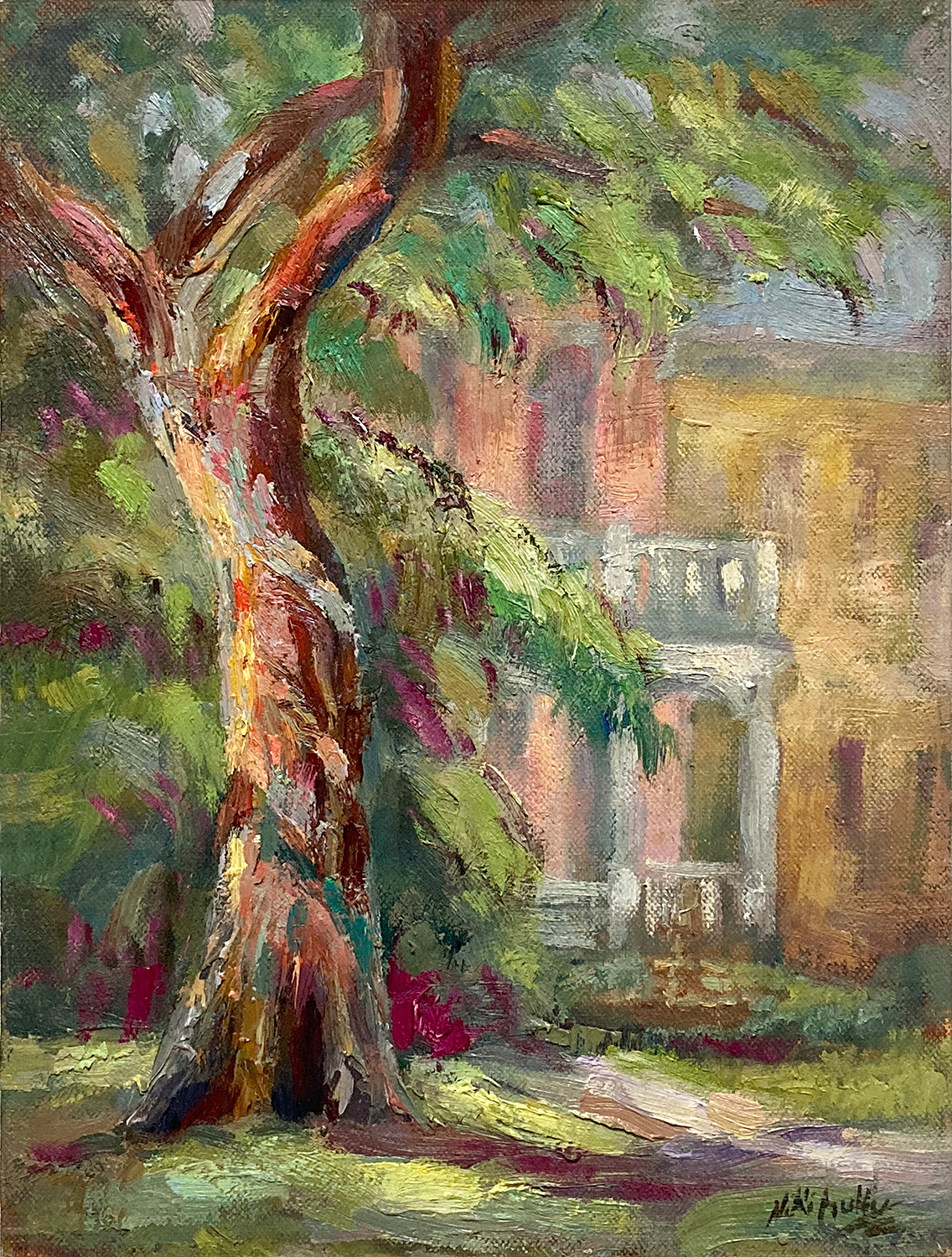 New Orleans, contemporary impressionist, daily painting, dallas texas artist, travel art, Niki Gulley paintings